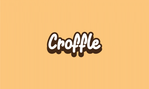 Croffle - Food and drink company name for sale