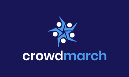 Crowdmarch - Crowdsourcing brand name for sale