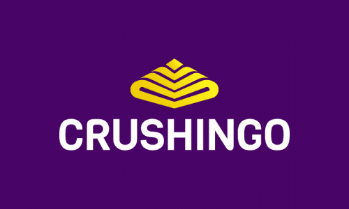 Crushingo - Crowdsourcing domain name for sale