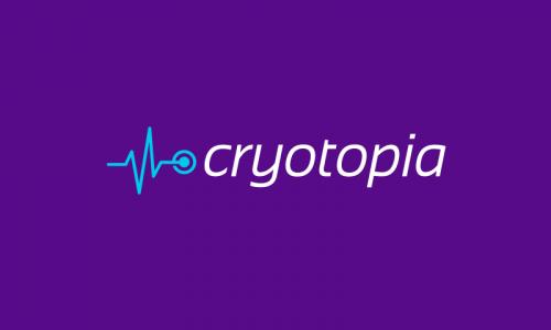 Cryotopia - Retail domain name for sale