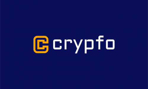 Crypfo - Cryptocurrency company name for sale