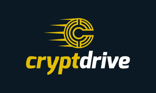 Cryptdrive - Cryptocurrency business name for sale