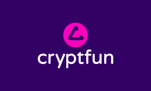 Cryptfun - Cryptocurrency business name for sale