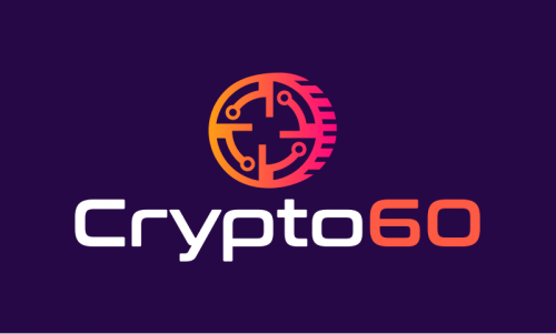 Crypto60 - Cryptocurrency company name for sale