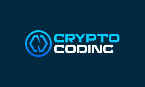 Cryptocoding - Cryptocurrency startup name for sale