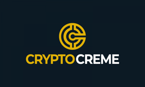 Cryptocreme - Cryptocurrency company name for sale