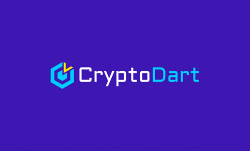 Cryptodart - Cryptocurrency brand name for sale