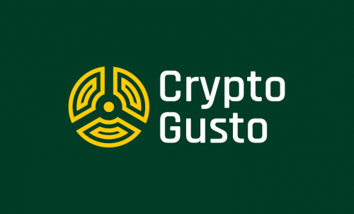 Cryptogusto - Cryptocurrency business name for sale