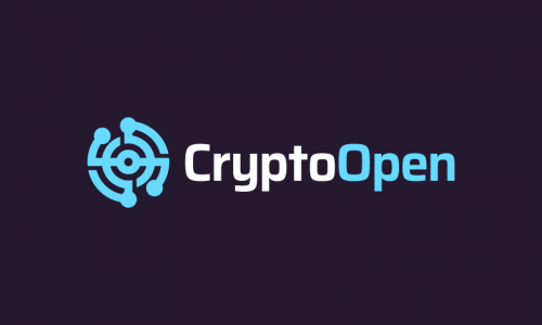 Cryptoopen - Cryptocurrency business name for sale
