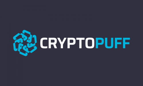 Cryptopuff - Cryptocurrency startup name for sale