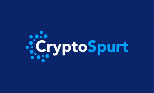 Cryptospurt - Cryptocurrency company name for sale