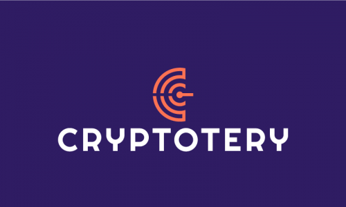 Cryptotery - Cryptocurrency startup name for sale