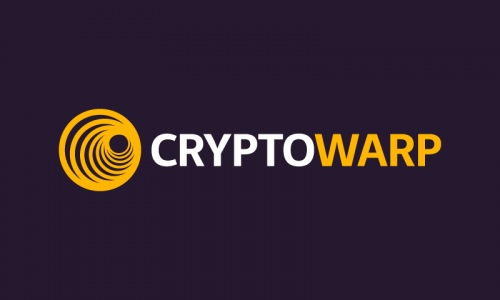 Cryptowarp - Cryptocurrency business name for sale
