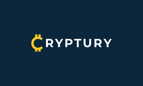 Cryptury - Cryptocurrency business name for sale