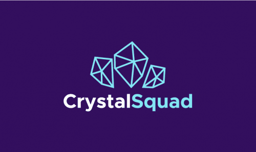 Crystalsquad - Online games company name for sale