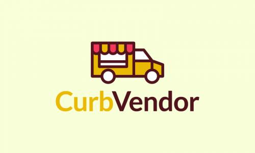 Curbvendor - Business brand name for sale