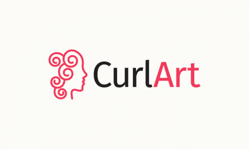 Curlart - Beauty brand name for sale