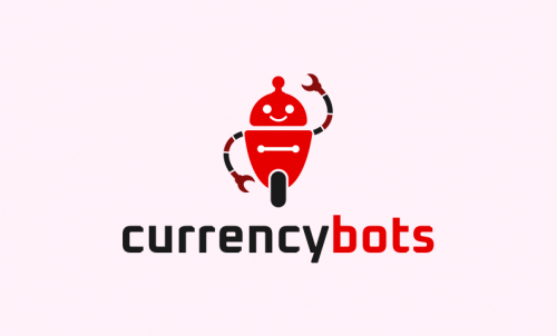 Currencybots - Cryptocurrency startup name for sale