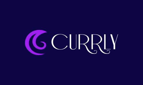 Currly - E-commerce brand name for sale