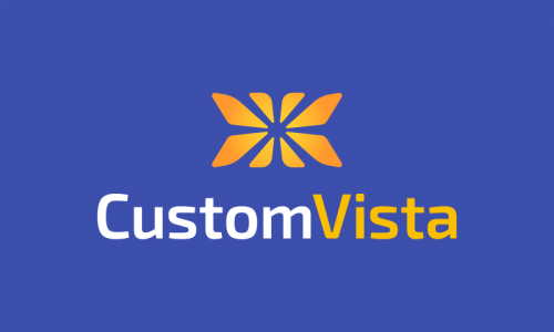 Customvista - E-commerce brand name for sale