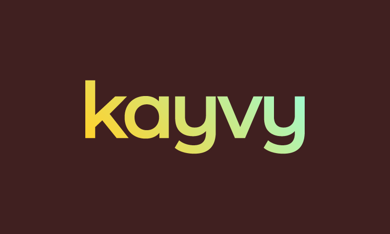Kayvy - Business domain name for sale