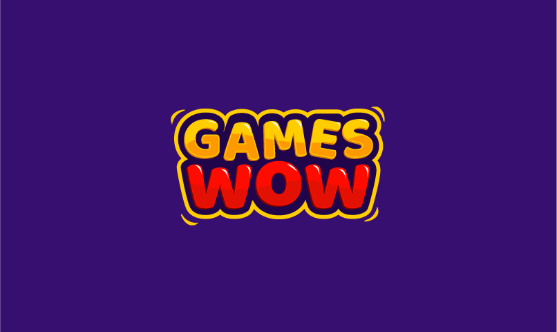 Gameswow - Online games company name for sale