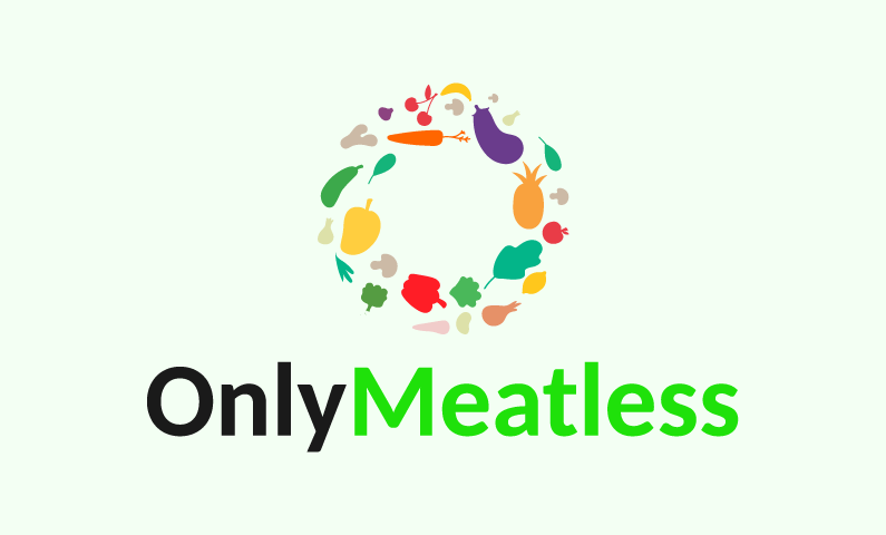 Onlymeatless - E-commerce company name for sale