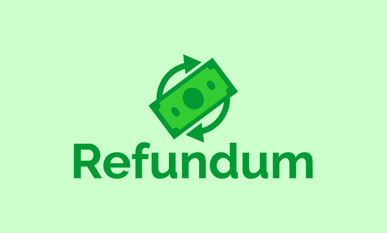 Refundum - Payment brand name for sale