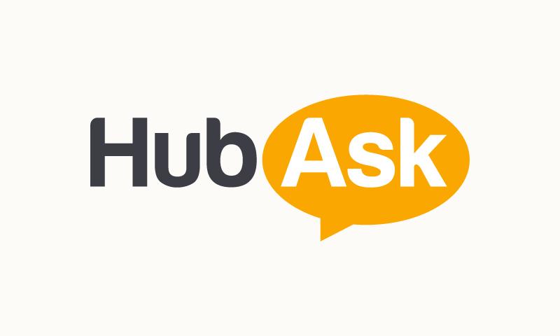 Hubask - Social startup name for sale