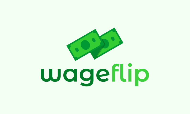 Wageflip - Modern company name for sale