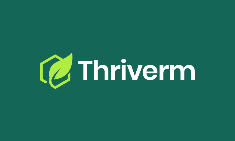 Thriverm - Marketing company name for sale