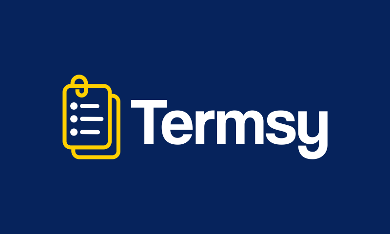 Termsy - Business domain name for sale