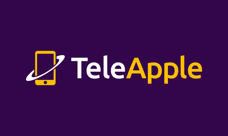 Teleapple - Telecommunications startup name for sale