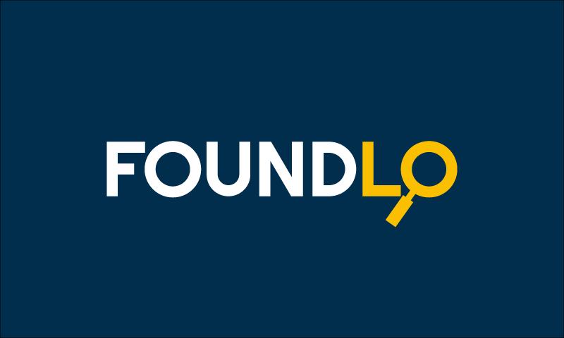 Foundlo - Technology company name for sale