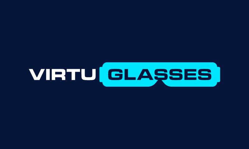 Virtuglasses - Technology startup name for sale