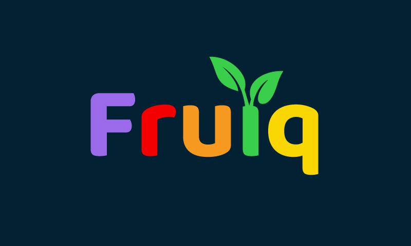 Fruiq - E-commerce business name for sale