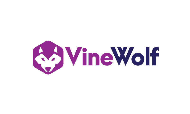 Vinewolf - Modern business name for sale