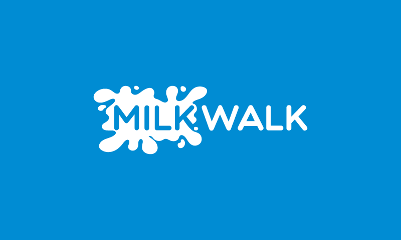 Milkwalk - E-commerce company name for sale