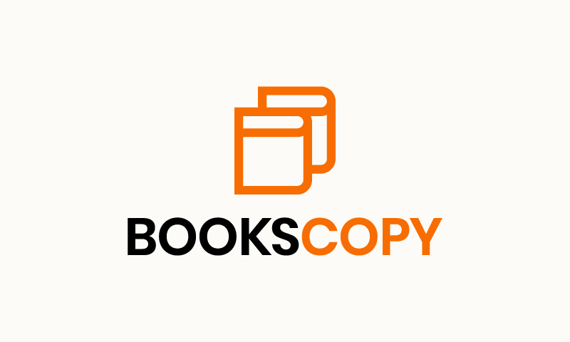 Bookscopy - Print brand name for sale