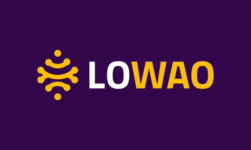 Lowao - E-commerce business name for sale