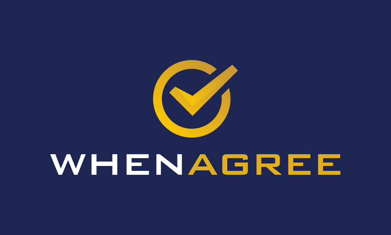 Whenagree - Business domain name for sale