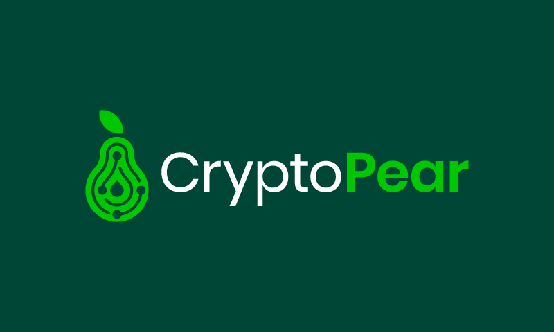 Cryptopear - Cryptocurrency business name for sale