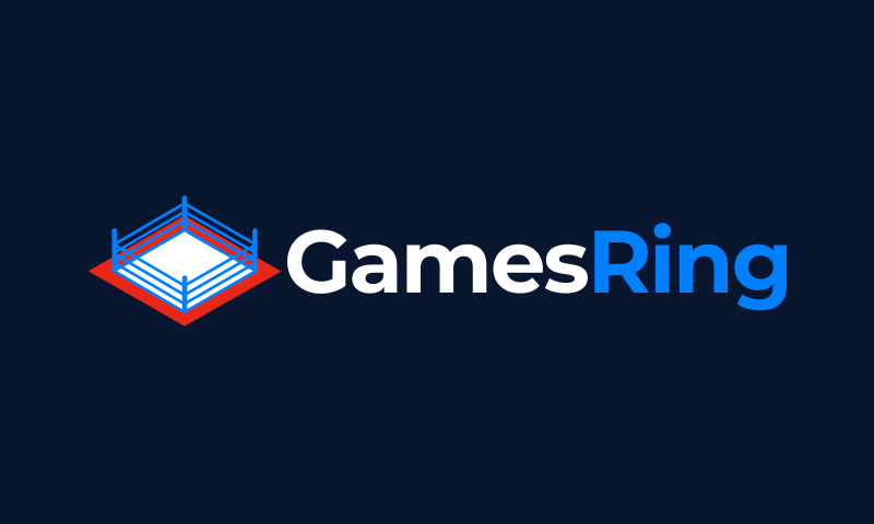 Gamesring - Online games business name for sale