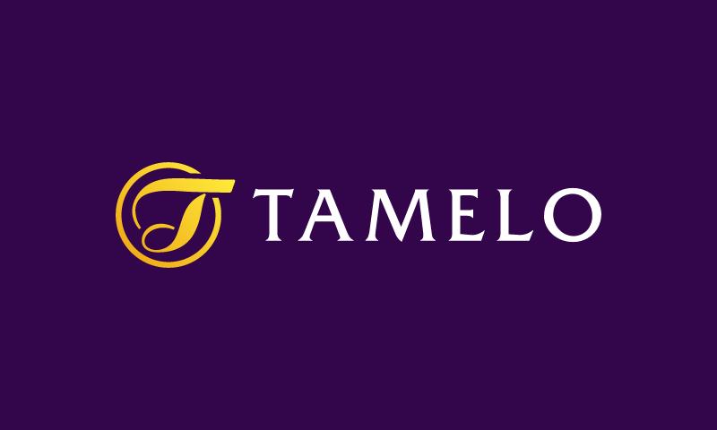 Tamelo - E-commerce domain name for sale