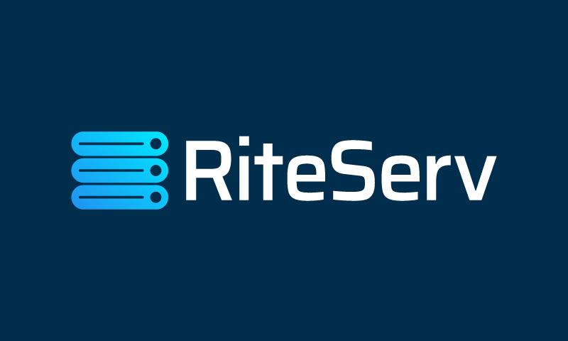 Riteserv - Augmented Reality brand name for sale