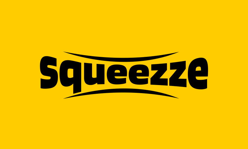 Squeezze - Modern brand name for sale