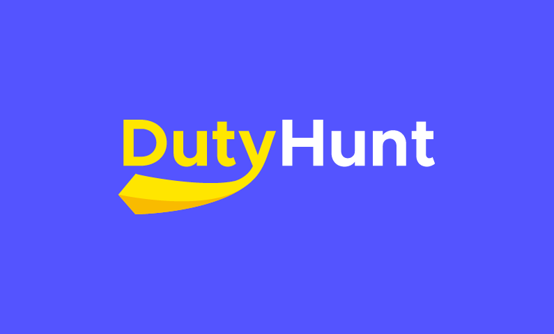 Dutyhunt - Playful startup name for sale