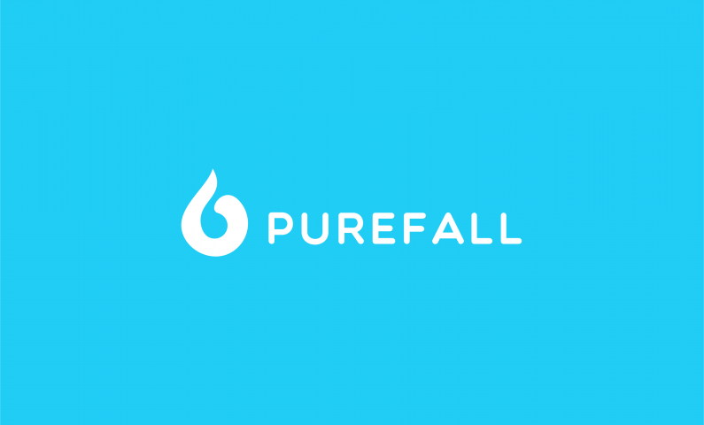 Purefall - Fresh domain name