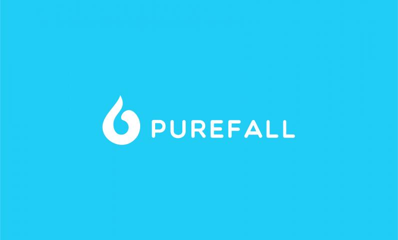 PureFall logo - Fresh domain name