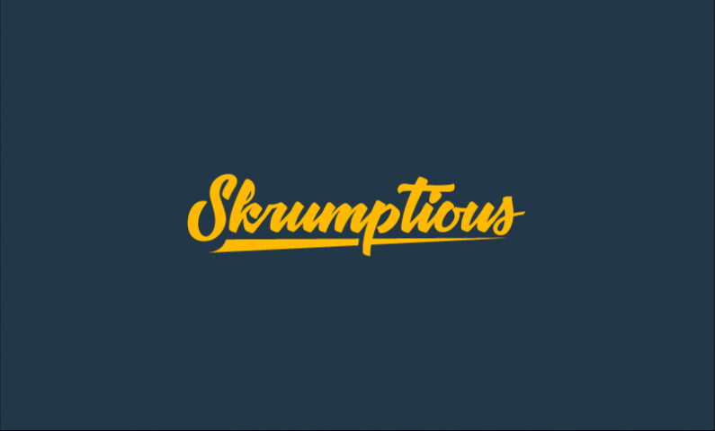 Skrumptious - Food and drink domain name for sale
